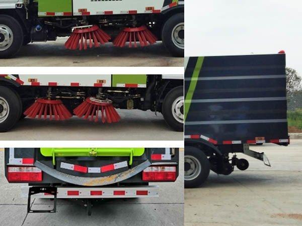 程力牌CL5070TSLE6型扫路车