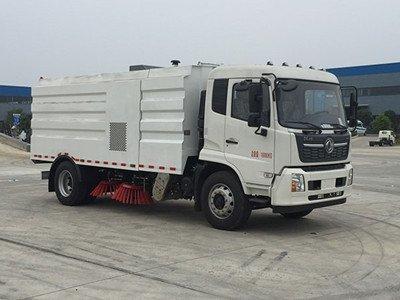 程力牌CL5160TSLGH6型扫路车