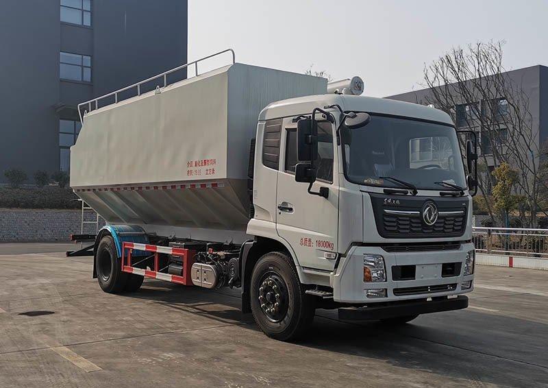 程力牌CL5180ZSL6QX型散装饲料运输车