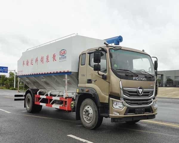 程力牌CL5180ZSL6SS型散装饲料运输车