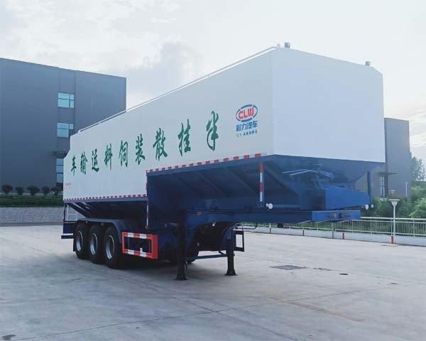 程力牌CL9400ZSLSS型散装饲料运输半挂车