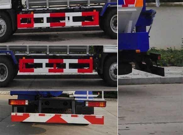 楚飞牌CLQ5180ZSL5SX型散装饲料运输车