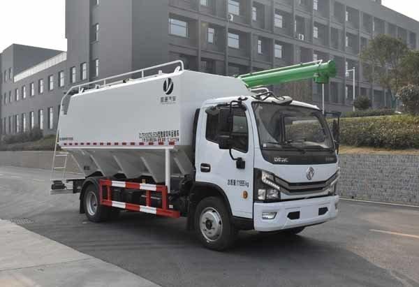 纵昂牌CLT5120ZSLEQ6型散装饲料运输车