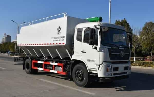 纵昂牌CLT5180ZSLDF6型散装饲料运输车