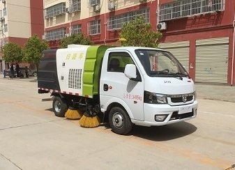 程力威牌CLW5030TSLE5型扫路车