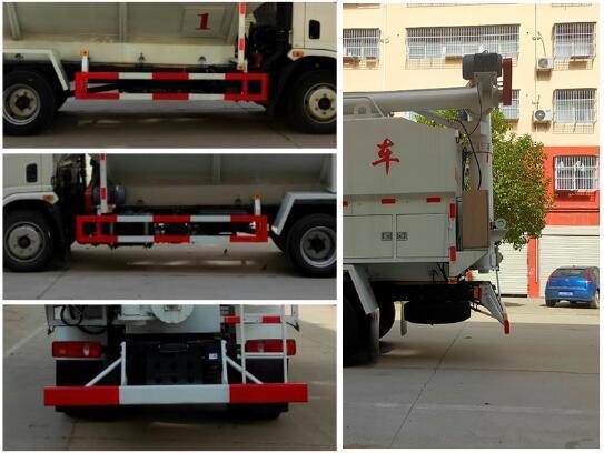 程力威牌CLW5127ZSLE6型散装饲料运输车
