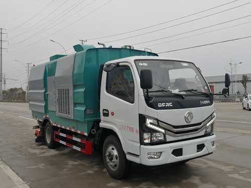 楚胜牌CSC5070TXC6型吸尘车