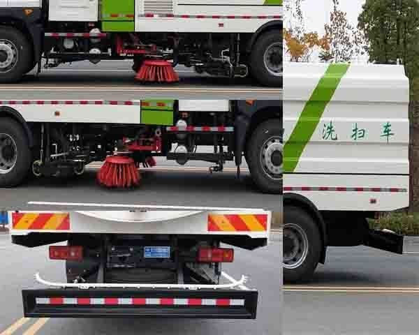 程力牌CL5180TXSBEV型纯电动洗扫车