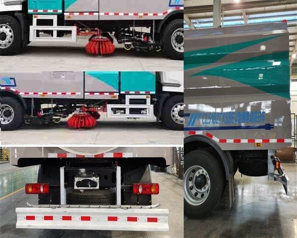 程力牌CL5182TXSBEV型纯电动洗扫车