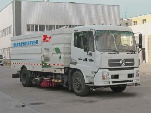 楚飞牌CLQ5160TXS4D型洗扫车