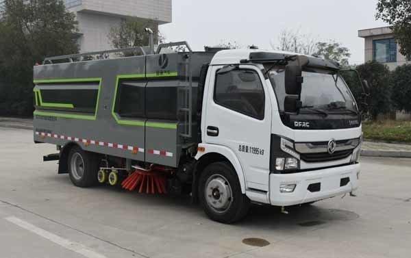 纵昂牌CLT5120TXSEQ6型洗扫车