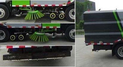 程力威牌CLW5070TXS6HL型洗扫车