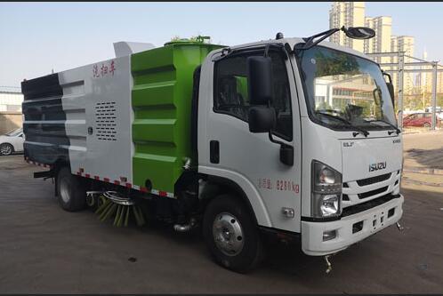 程力威牌CLW5080TXSHL6型洗扫车