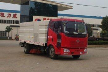 程力威牌CLW5160TXSC4型洗扫车