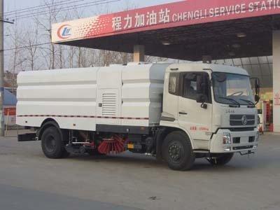 程力威牌CLW5160TXSD4型洗扫车