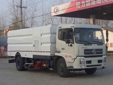 程力威牌CLW5160TXSD5型洗扫车