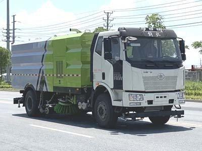 程力威牌CLW5180TXSC6型洗扫车