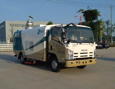 聚尘王牌HNY5072TXCQ5型吸尘车