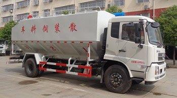 程力威牌CLW5180ZSLD6型散装饲料运输车