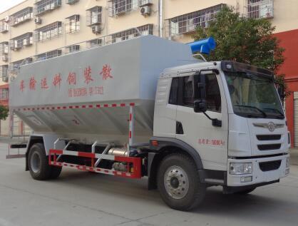 程力威牌CLW5182ZSLC6型散装饲料运输车