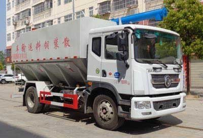 程力威牌CLW5185ZSL6型散装饲料运输车