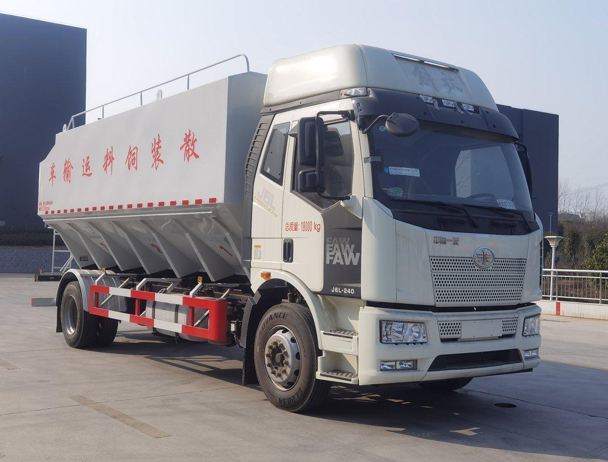 程力威牌CLW5186ZSLC6型散装饲料运输车