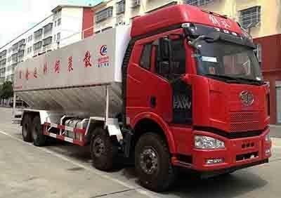 程力威牌CLW5312ZSLC5型散装饲料运输车