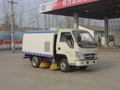 程力威牌CLW5042TSLB4型扫路车