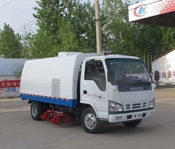 程力威牌CLW5060TSLQ4型扫路车