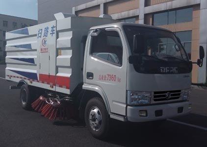 程力威牌CLW5070TSLD5型扫路车