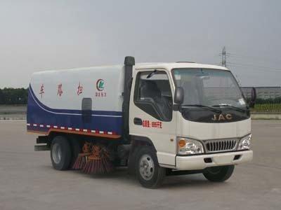 程力威牌CLW5070TSLH4型扫路车