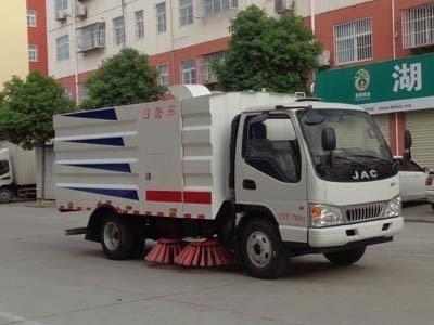 程力威牌CLW5070TSLH5型扫路车