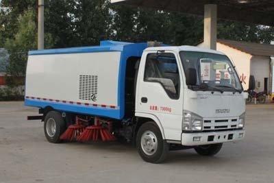 程力威牌CLW5070TSLQ4型扫路车