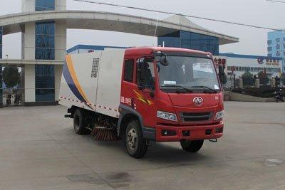 程力威牌CLW5080TSLC4型扫路车