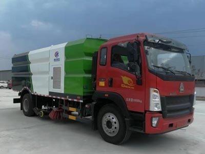 程力威牌CLW5180TXSZ6型洗扫车