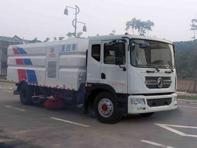 程力威牌CLW5182TXSD5型洗扫车