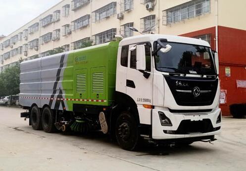 程力威牌CLW5250TXSD6型洗扫车