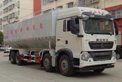 程力威牌CLW5313ZSLZ5型散装饲料运输车