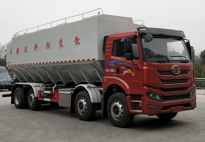 程力威牌CLW5314ZSLC6型散装饲料运输车
