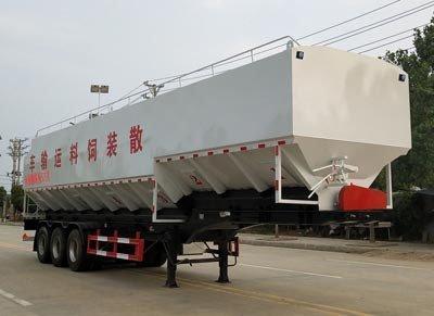 程力威牌CLW9400ZSL型散装饲料运输半挂车