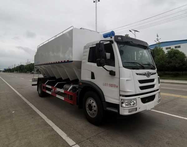 楚胜牌CSC5189ZSLCA6型散装饲料运输车