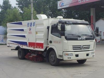 程力威牌CLW5080TSLD5型扫路车