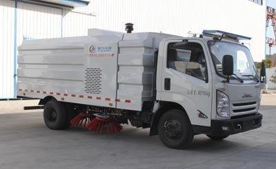 程力威牌CLW5080TSLJ5型扫路车