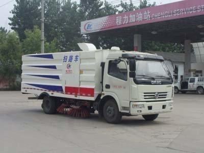 程力威牌CLW5081TSLD4型扫路车