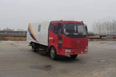 程力威牌CLW5120TSLC4型扫路车
