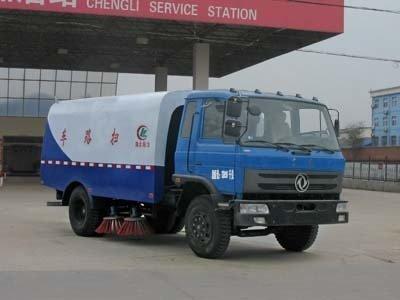 程力威牌CLW5120TSLT4型扫路车