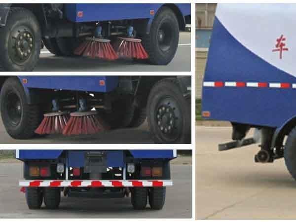 程力威牌CLW5122TSLT4型扫路车
