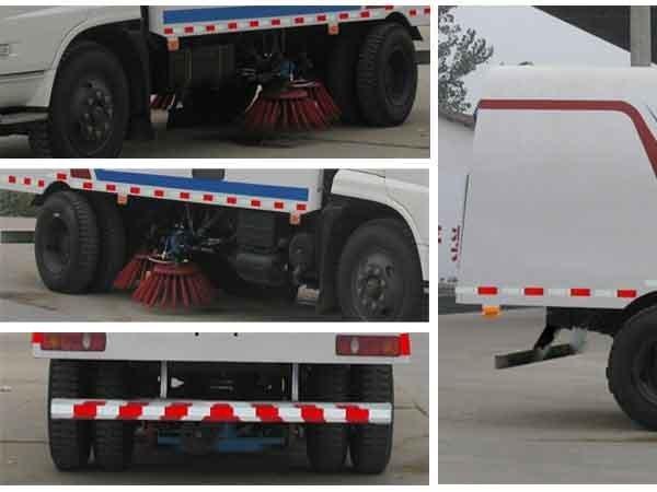 程力威牌CLW5160TSL4型扫路车