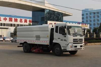 程力威牌CLW5160TSLD4型扫路车