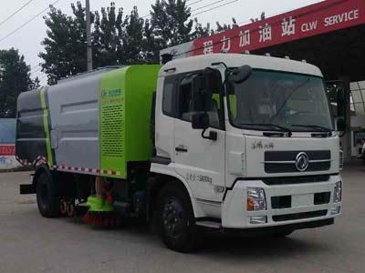 程力威牌CLW5160TSLD5型扫路车